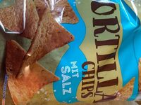 Tortilla Chips mit Salz - Product - de
