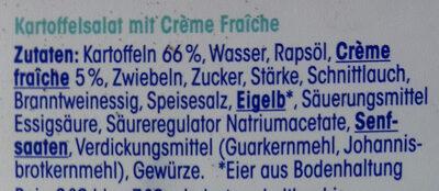 Kartoffelsalat - Ingredients