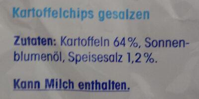 Chips - Ingredients - de