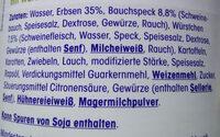 Erbsen-Eintopf - Ingredients - de