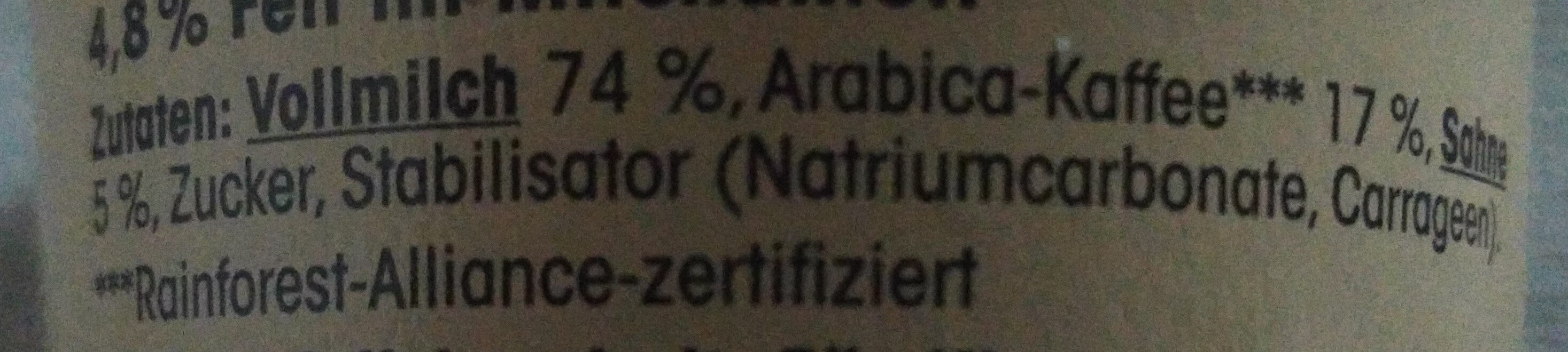 Latte Macchiato - Ingredients - de