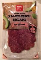 Kalbfleisch Salami mit Rindfleisch - Produkt - de