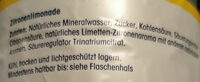 ja! Zitronenlimonade - Ingredients - de