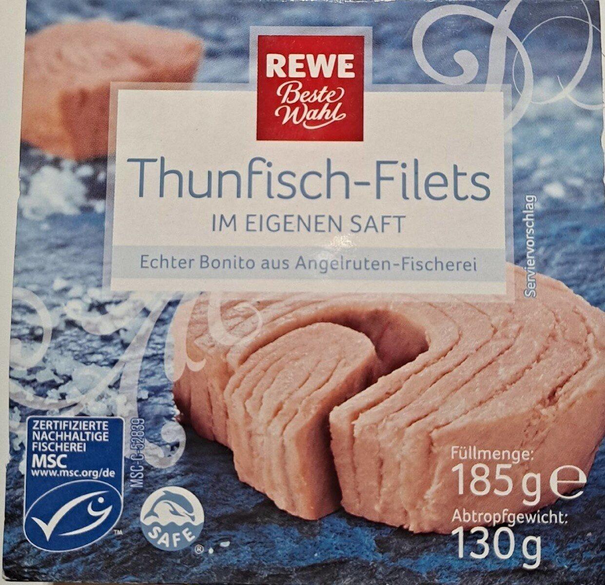 Thunfisch-Filets im Eigenen Saft - Produkt - de