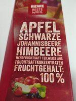 REWE Beste Wahl Apfel Schwarze Johannisbeere Himbeere - Produkt - de