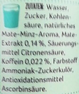 LaMate Minze - Ingrediënten