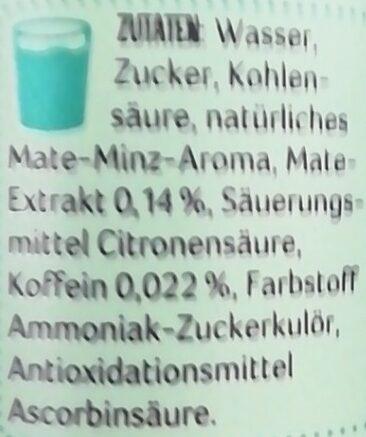 LaMate Minze - Ingredienti - de