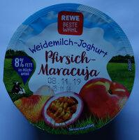 Weidemilch-Joghurt Pfirsich-Maracuja - Produkt