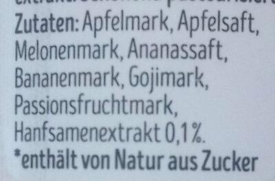 Good Vibes Hanf Smoothie - Ingredienti - de