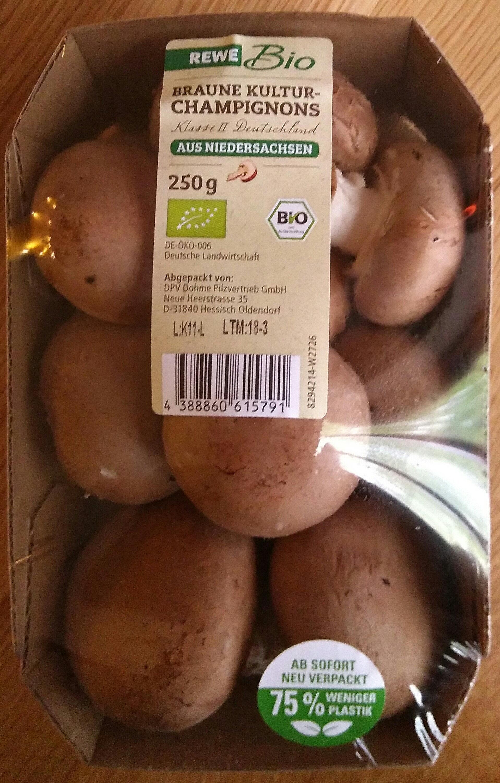 Braune Kultur-Champignons - Produkt