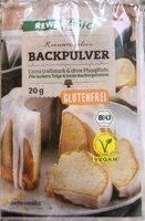 Reinweinstein Backpulver (REWE Bio) - Prodotto - de