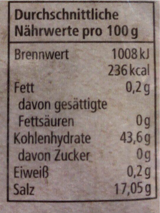 Reinweinstein Backpulver (REWE Bio) - Valori nutrizionali - de