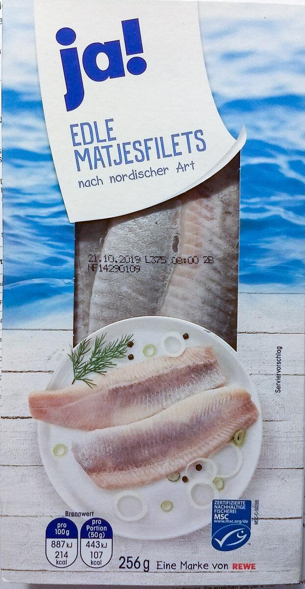 Edle Matjesfilets nach nordischer Art - Product - de