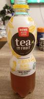 Rewe Beste Wahl Tea & Fruit Zitronen-Ingwer-Geschmack - Prodotto - de