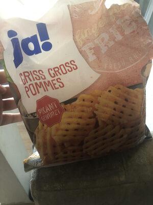 Criss cross pommes - Product - en