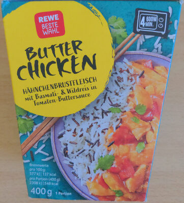 Butter Chicken - Produit - de