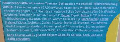 Butter Chicken - Ingrédients - de