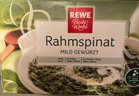 Rahmspinat - Produit - de