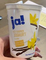Fettarmer Joghurt vanille - Product - en