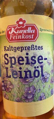 Kaltgepresstes Speiseleinöl - Produkt - de