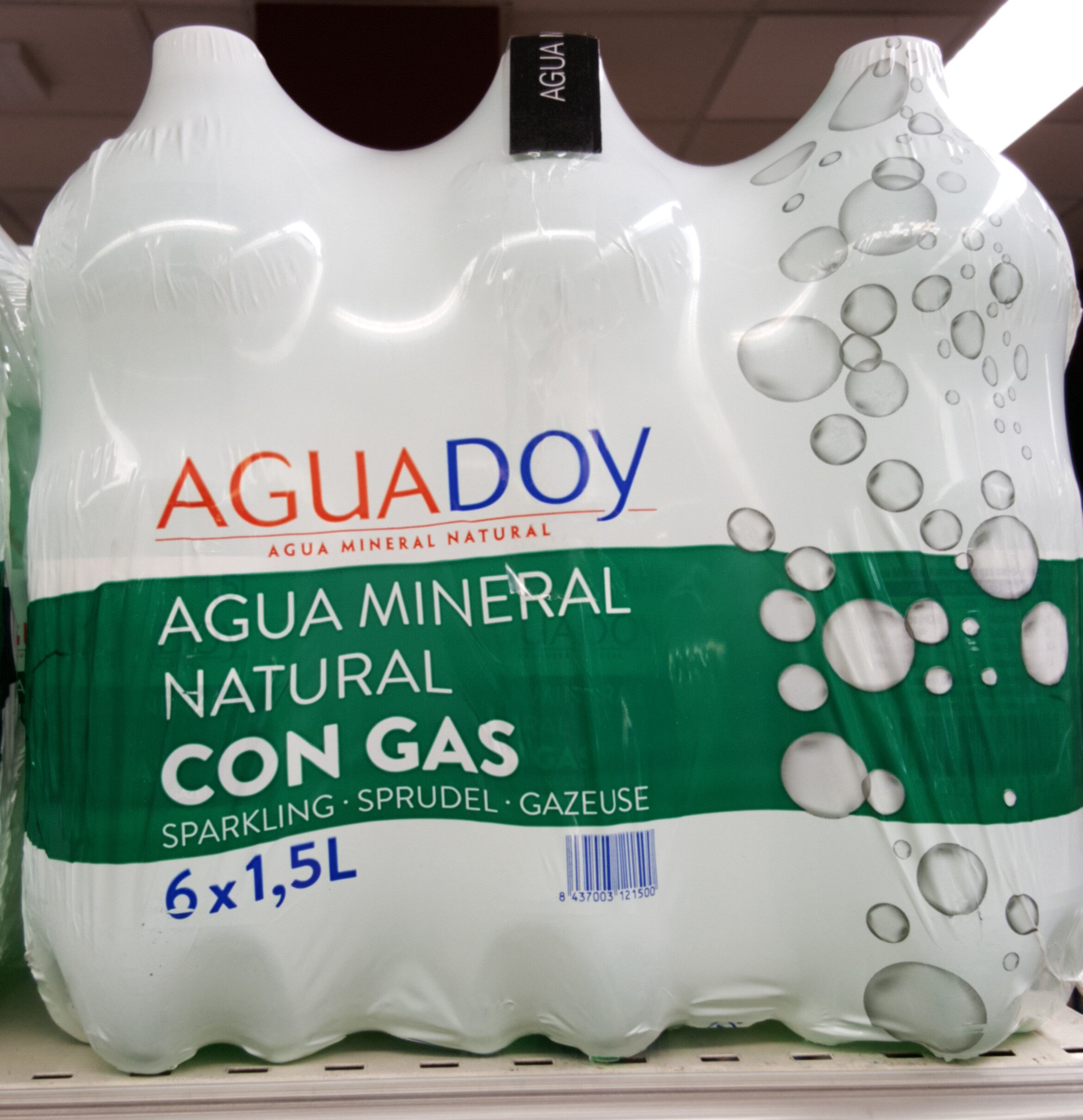Agua con gas pack 6 - Product - en