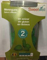 Merengues sabor a menta Sweetwell - Produit - es