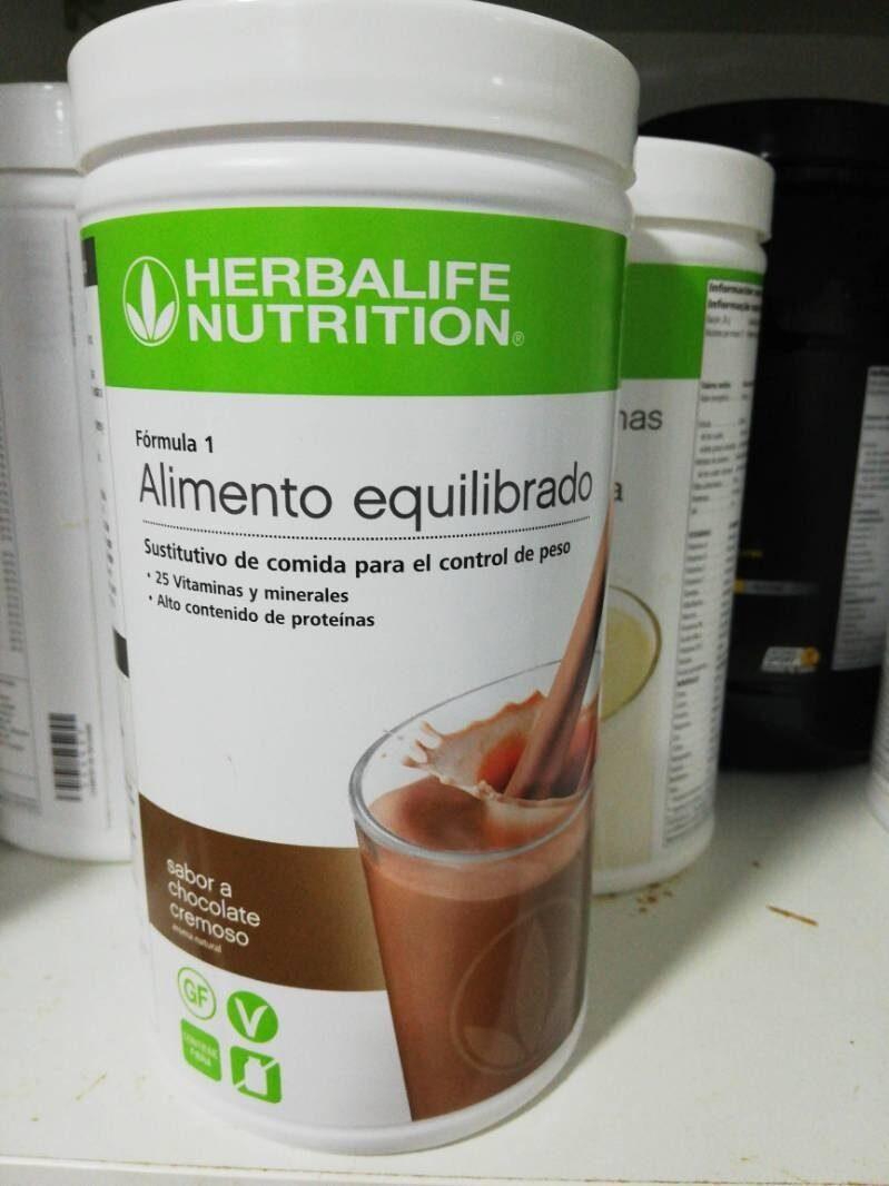 Alimento equilibrado sabor a chocolate - Product