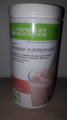 boisson nutritionnelle Formula 1 Strawberry - Product - fr