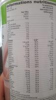 boisson nutritionnelle Formula 1 Strawberry - Nutrition facts - fr
