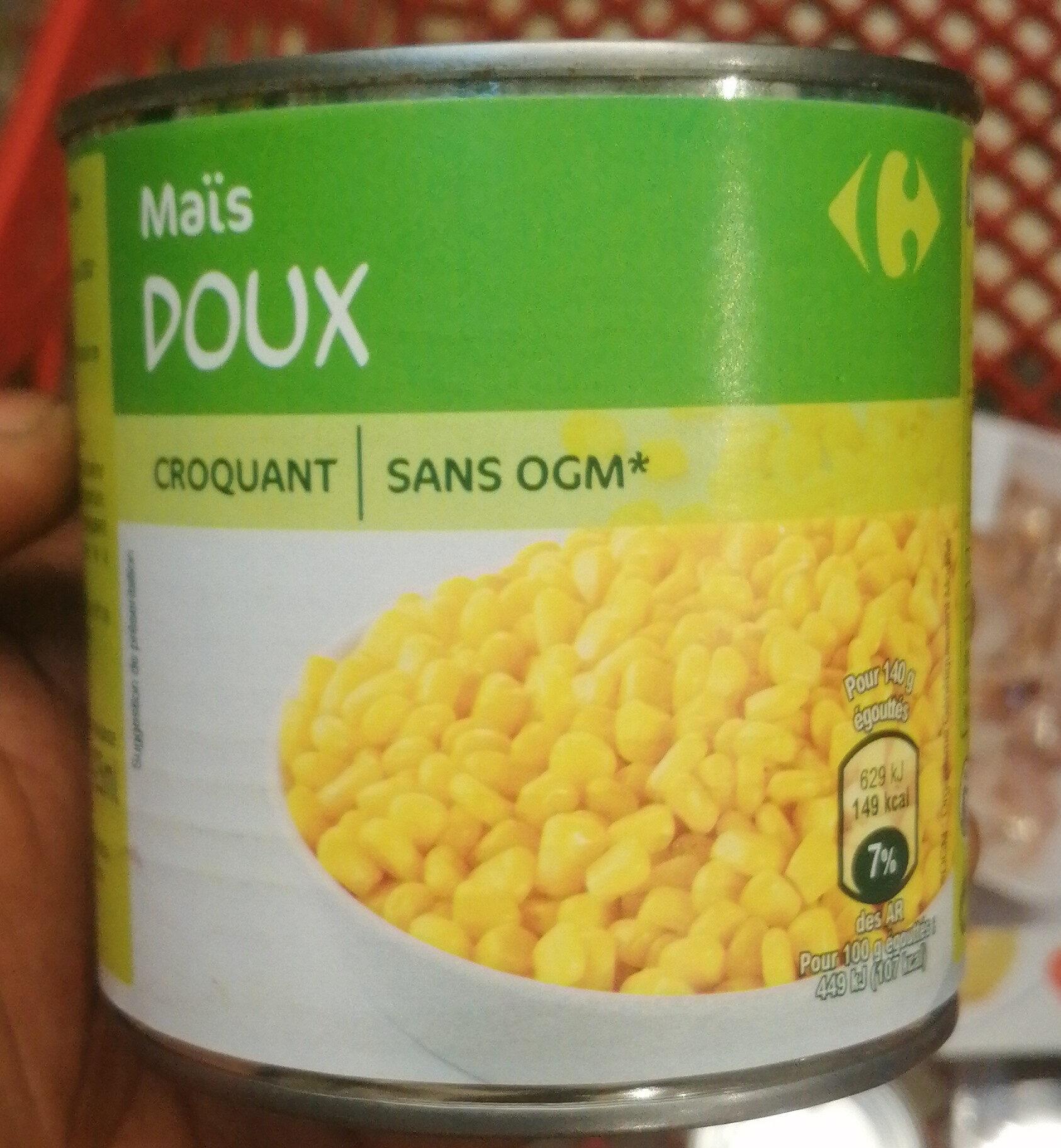 maïs doux croquant - Produit - fr