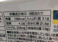 Premium crackers - 原材料 - fr