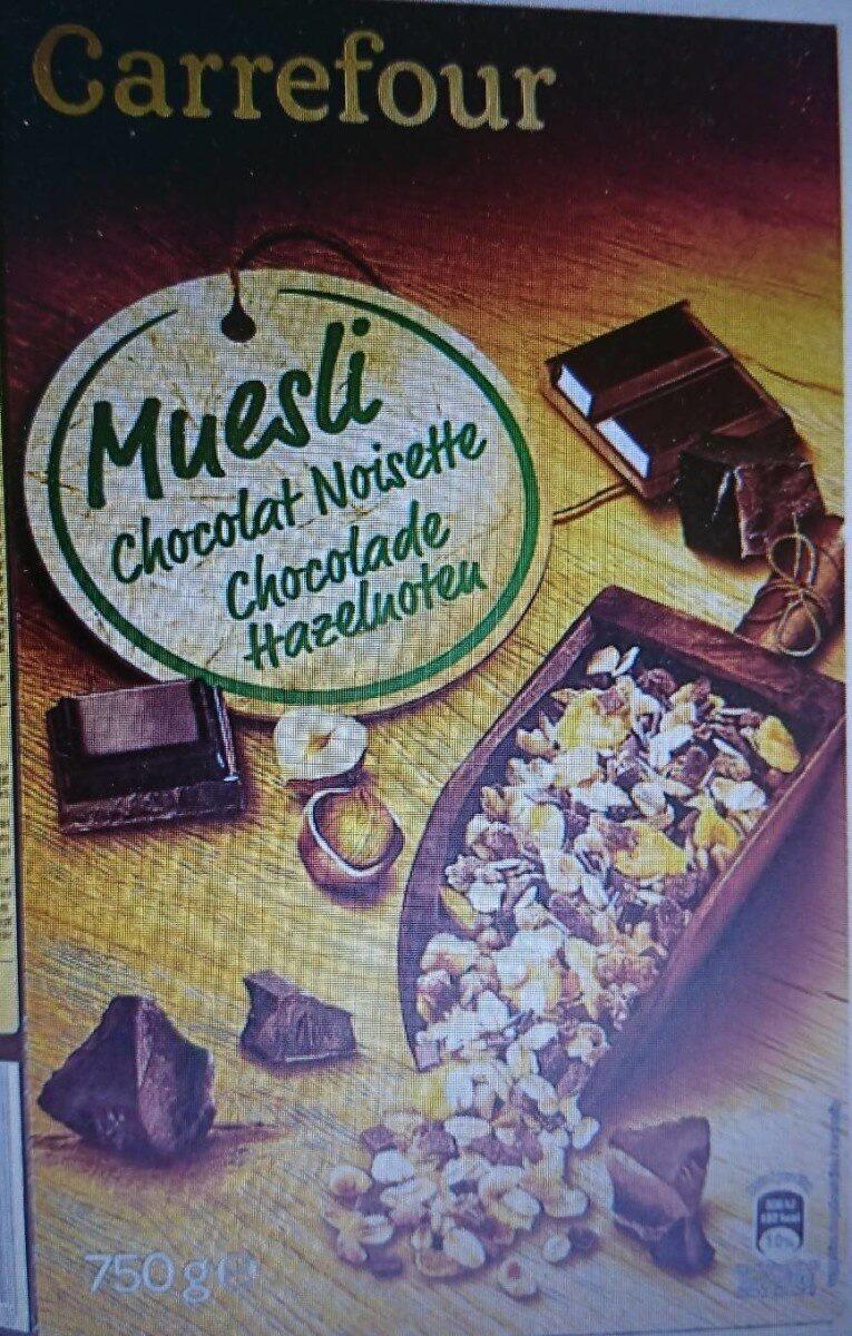 Céréales muesli chocolat noisette - Product