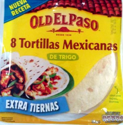 8 Tortillas Mexicanas de Trigo - Producto