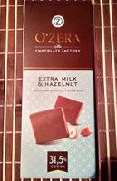 Молочный шоколад с фундуком - Produit