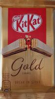 Kitkat gold - Producto - es