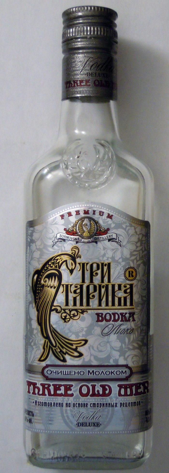 Водка «Три старика» Люкс - Product - ru