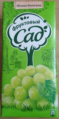 Нектар яблочно-виногрвдный осветленный для детского питания - Product - ru