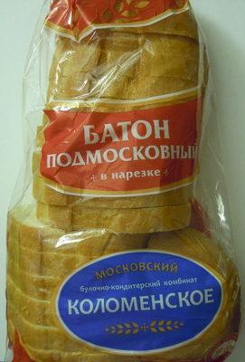 Батон подмосковный в нарезке - Product - ru