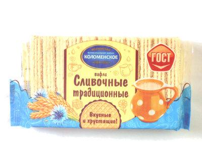 Вафли Сливочные традиционные - Product - ru