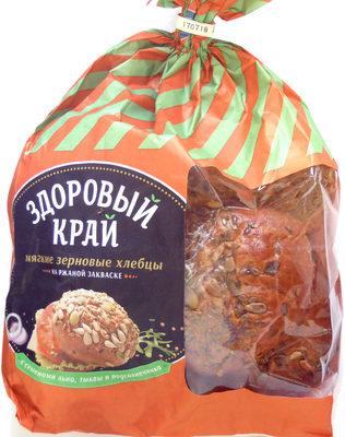 Мягкие зерновые хлебцы на ржаной закваске - Продукт