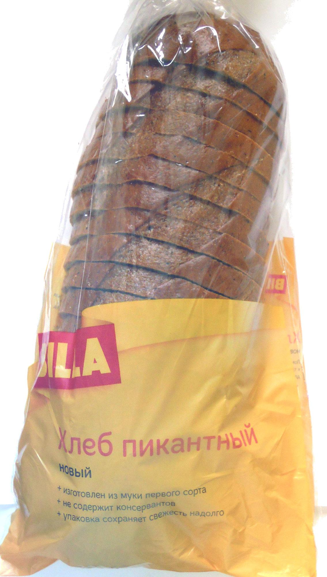 Хлеб Пикантный новый - Продукт