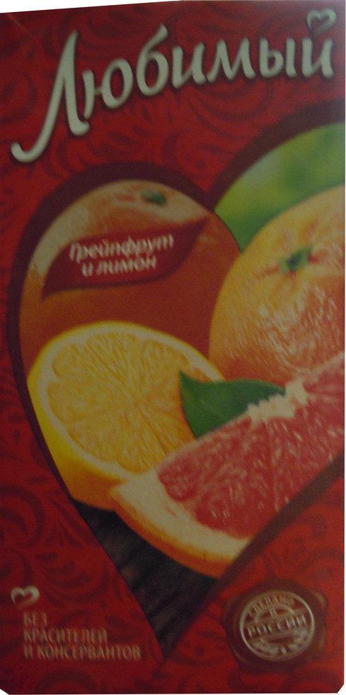 Грейпфрут и лимон - Product - ru