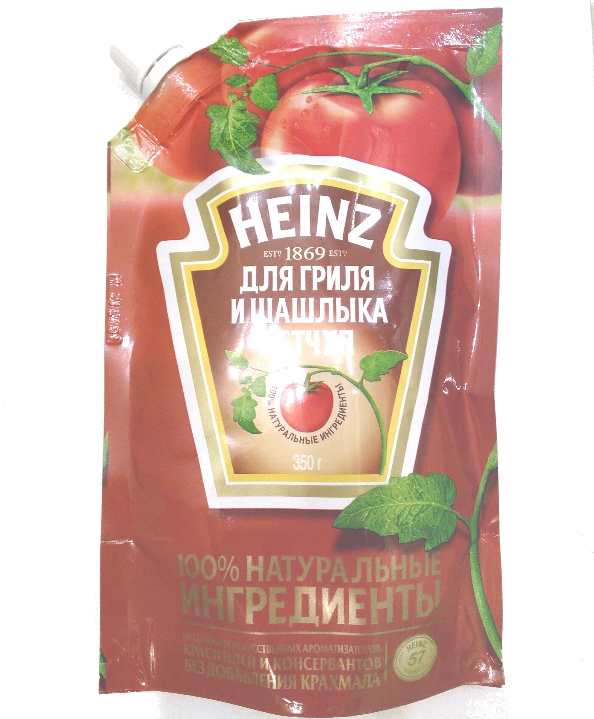 Кетчуп для гриля и шашлыка - Produit - ru