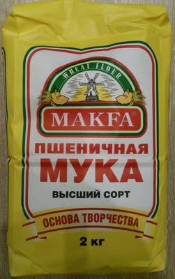 Мука пшеничная хлебопекарная высший сорт - Produkt