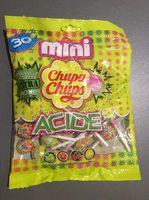 Mini-sucettes acides aux goûts fruits - Produit - fr