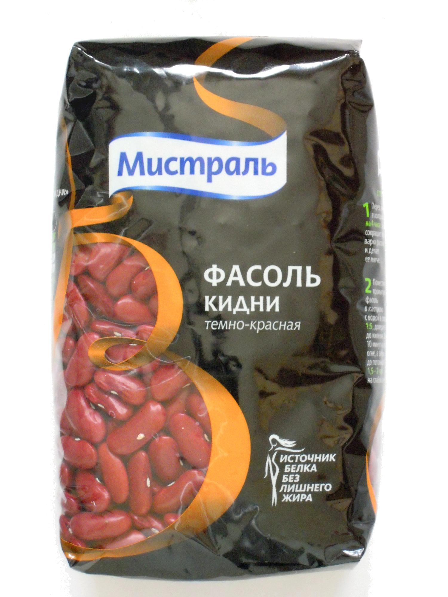 Фасоль Кидни темно-красная - Product - ru