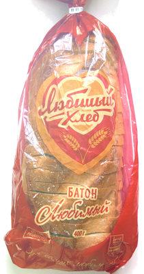 Батон Любимый - Продукт - ru