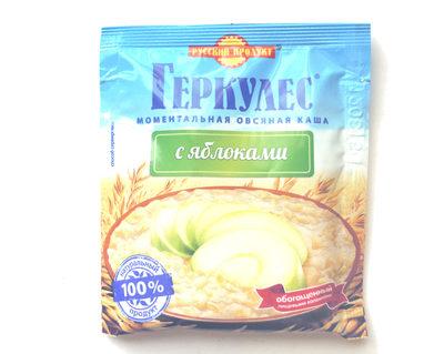 Моментальная овсяная каша «Геркулес®» с яблоками - Product - ru