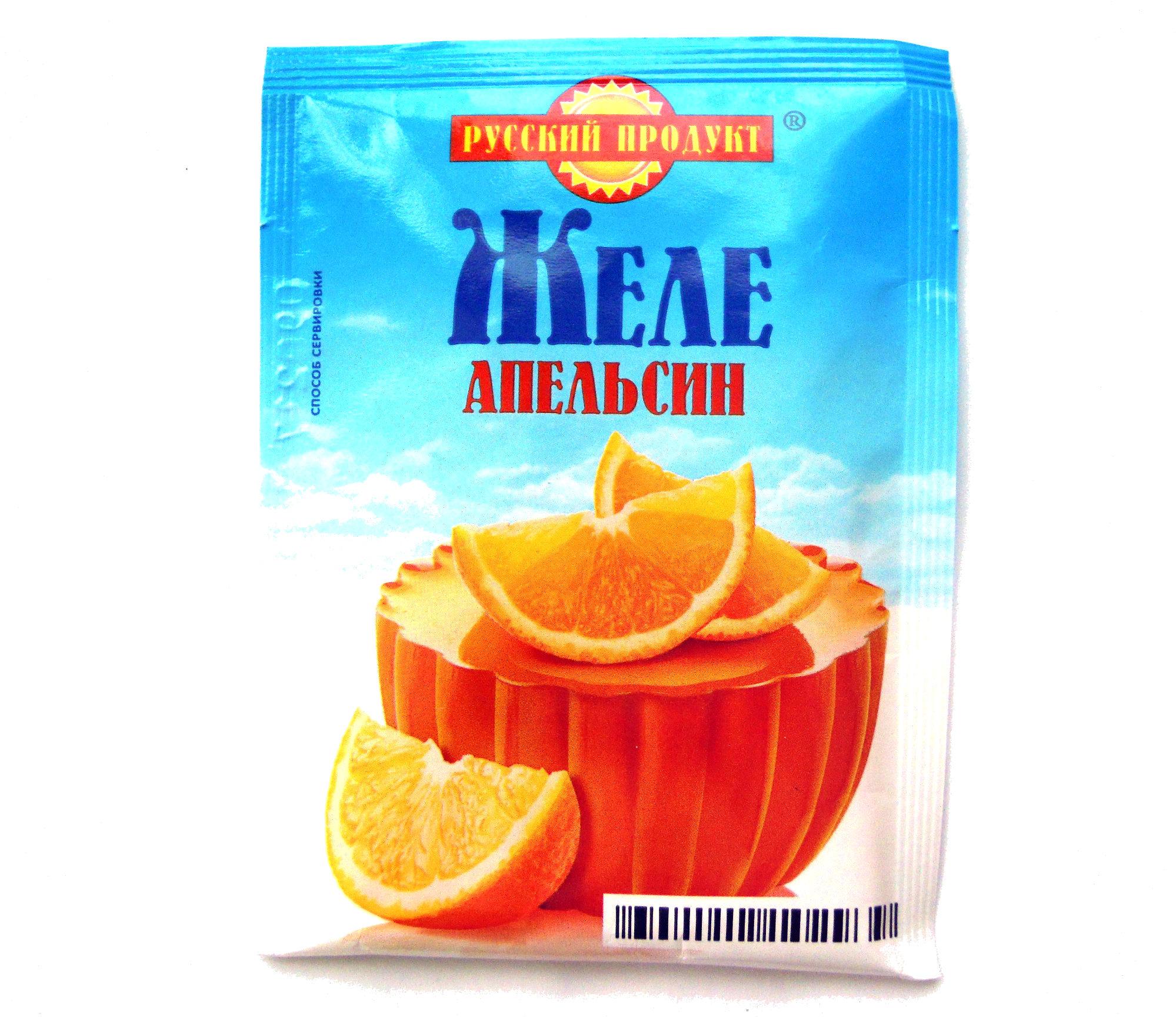 Желе Апельсин - Produkt - ru
