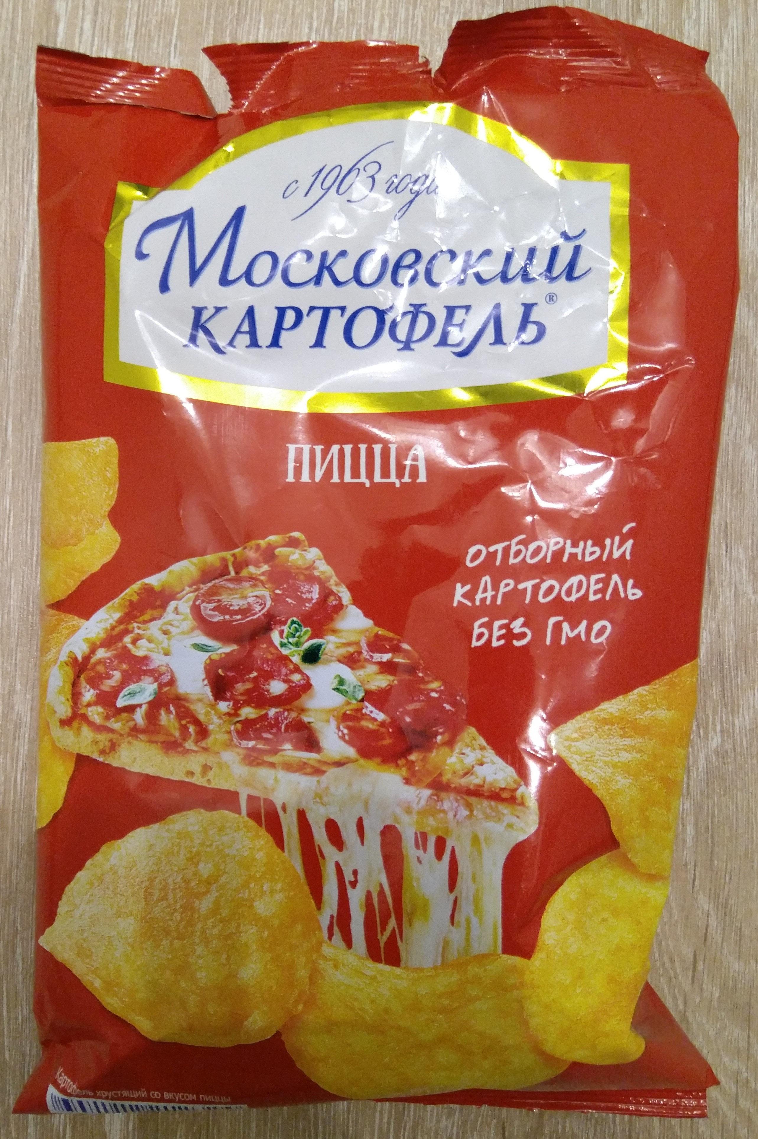 """Картофель хрустящий """"Со вкусом пиццы"""" - Produit"""